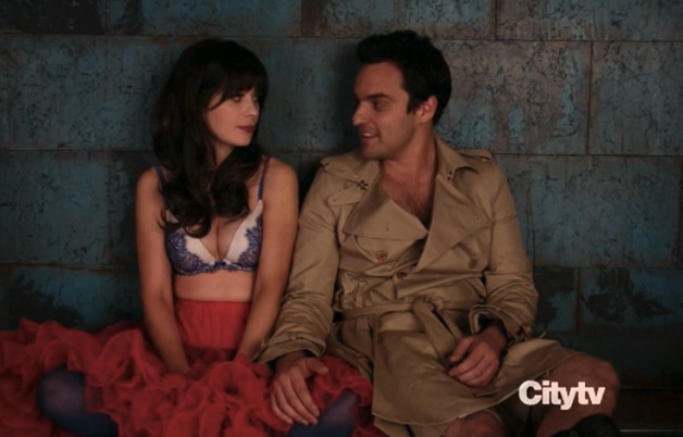 New Girl's Nick and Jess finally pop the kiss