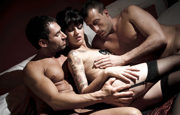 Room 33, hot threesome by Erika Lust