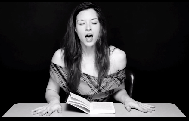 Hysterical Literature, reading and orgasming with Stoya