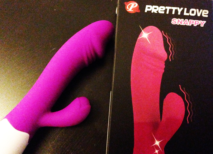 sex toy review of snappy pretty love by lucie blush
