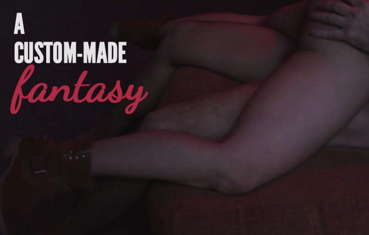A Custom-Made Fantasy, Lucie Blush's new porn film!