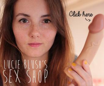 lucie blush sex shop