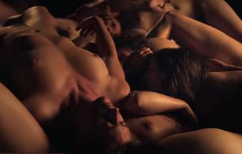 Libertine group sex, 'Marquis de Sade' style
