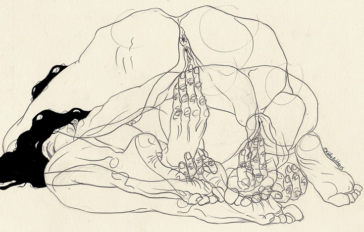 kaethe butcher erotic illustrations