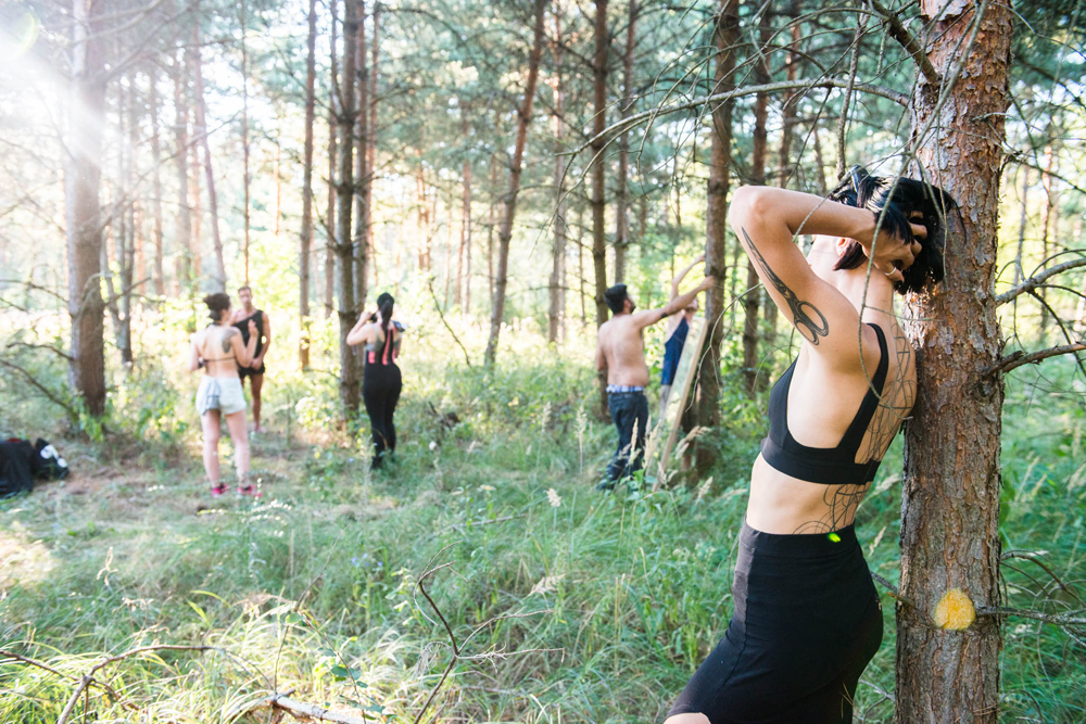 shooting of Pure by Lucie Blush